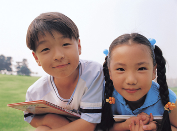 Asian Brother and Sister - Pediatric Dentist