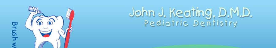 Pediatric Dentist Dr. John Keating's logo